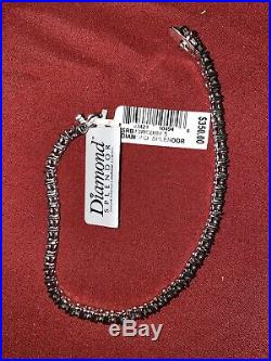 925 Sterling Silver Round Cut Tennis Bracelet Cubic Zirconia