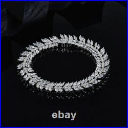 APM MONACO 925 Sterling Micropave AAA Cubic Zirconias Choker Necklace 38cm