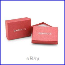 BERRICLE Sterling Silver Asscher Cut Cubic Zirconia CZ Wedding Tennis Bracelet