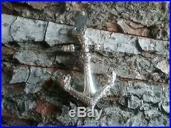 BNWT Thomas Sabo Silver Large Anchor Scull & Dragons Black Cubic Zirconias