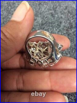 Beautiful CWE Charles Winston sterling Silver 925 cubic zirconia ring size 6