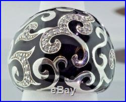 Belle Etoile Sterling Silver and Cubic Zirconia