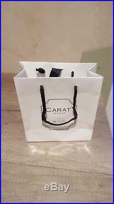 Carat London Thyra Cubic Zirconia Set Sterling Silver Drop Earrings (RRP £243)