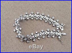 Charles Winston Cubic Zirconia Sterling Silver 925 (RP) 925 Bracelet 7.5
