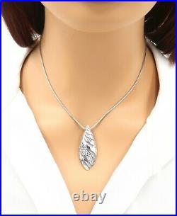 DEVATA Bali Sterling Silver 925 18K Gold Necklace Cubic Zirconia DVR9559CZ