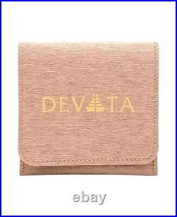 DEVATA Bali Sterling Silver 925 Necklace 18K Gold Red Cubic Zirconia DVT9553RB