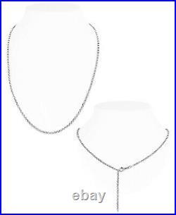 DEVATA Dragonfly 925 Sterling Silver 18K Gold Purple Cubic Zirconia Necklace