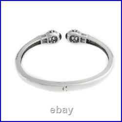 HSN Victoria Wieck Sterling Sapphire & Cubic Zirconia Bangle 7 Bracelet $359