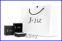 JJAZ Sterling Silver Clear Cubic Zirconia Messina Cocktail Rings Gift Boxed