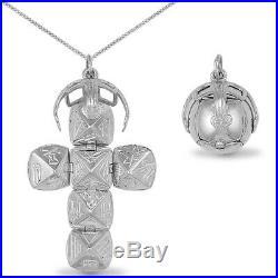 Jewelco London Silver Cubic Zirconia large Masonic Ball Masonic Charm