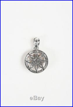 Judith Ripka Sterling Silver Chalcedony Cubic Zirconia Pendant