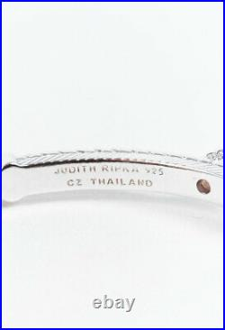 Judith Ripka Sterling Silver Cubic Zirconia Pearl Bracelet