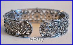 Judith Ripka Sterling Silver and Cubic Zirconia Bracelet