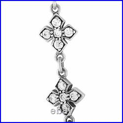 King Baby Sterling Silver and Cubic Zirconia Necklace