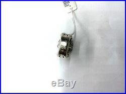 King Baby Studio Crown With Cubic Zirconia Ring Silver 6
