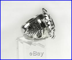 King Baby Studio women's Sunflower Cubic zirconia ring SHOWROOM SALE Q20-9051A