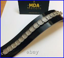 Ladies Silver Cubic Zirconia Bracelet