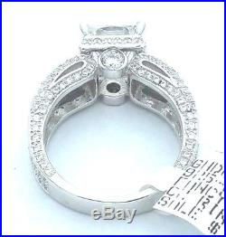 Ladies Women's Real Solid 925 Sterling Silver Solitaire AAA Cubic CZ Bridal Ring