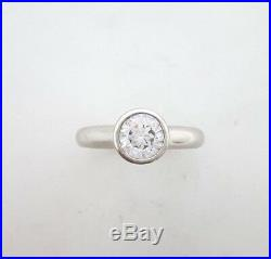 Miran 212416 Silver Cubic Zirconia Bezel Ring 4.0g RRP$295