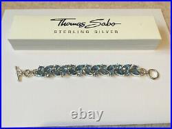 NEW THOMAS SABO SIlver & Cubic Zirconia Bracelet