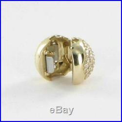 Pandora 750832CZ Love of My Life Charm Clip Cubic Zirconia 14k Yellow Gold $425