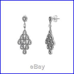 Pandora Cascading Glamour Earrings with Clear Cubic Zirconia 296201CZ