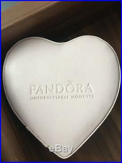 Pandora Glamour Trio Dangle Charm Enamel and Cubic Zirconia