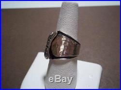 RARE! SILPADA R1441 Six Cubic Zirconia Sterling Silver Ring Size 7 HTF! Cute