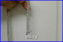 (RP) Sterling silver Cubic Zirconia Necklace
