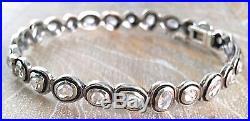 SILPADA. 925 Sterling Silver Cubic Zirconia CZ BRILLIANCE Bracelet Bangle B2710