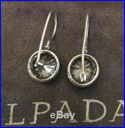 SILPADA Cinema Star Cubic Zirconia Sterling Silver Earrings W2393 RARE
