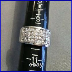 SILPADA R1405 Sterling Silver Channel Set Cubic Zirconia Ring Size 6 RARE HTF