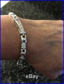 Silpada B0764 Sterling Silver Cubic Zirconia Tennis Bracelet Rare NEW