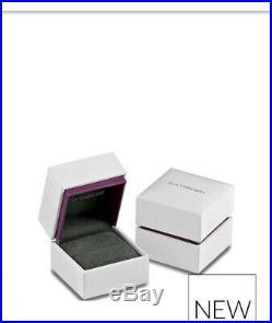 Silver Cubic Zirconia Triple Row Ring