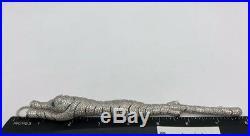 Sterling Silver 925 Panther Bracelet Cubic Zirconia