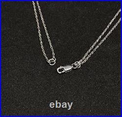 Sterling Silver Blue Cubic Zirconia Bib Necklace