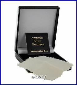 Sterling Silver Cubic Zirconia Horse Head Pendant