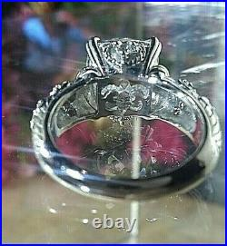Sterling Silver Cubic Zirconia Ring Size 6 By Judith Ripka