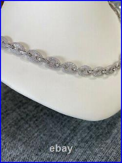 Stunning Rich Necklace With Cubic Zirconia, Gucci Style