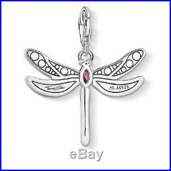 Thomas Sabo Charm CC1757 Dragonfly Cubic Zirconoia Charm RRP $179
