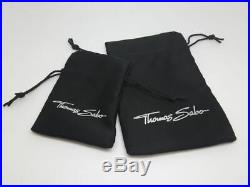 Thomas Sabo TH1744CZ Sterling Silver Cubic Zirconia Butterfly Drop Earrings $479