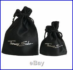 Thomas Sabo TPE317CZ Sterling Silver Pave Cubic Zirconia Heart Pendant RRP $549