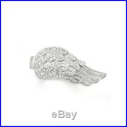 Thomas Sabo TR1867C Sterling Silver Angel Wing Cubic Zirconia Ring RRP $479